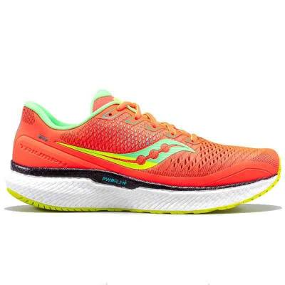 SAUCONY TRIUMPH 18 CORAL MUJER