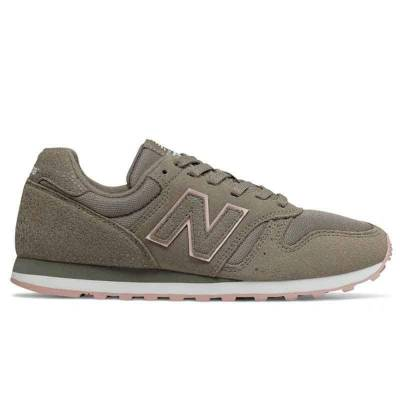 NEW BALANCE WL373 VERDE-GRIS MUJER