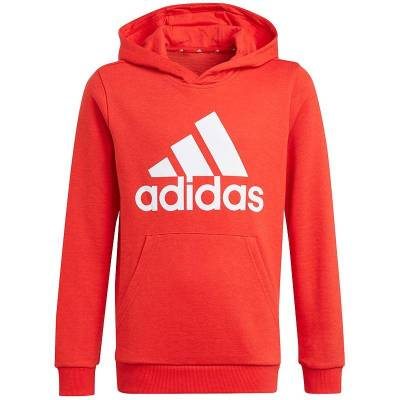 ADIDAS SUDADERA CON CAPUCHA ESSENTIALS ROJO JUNIOR