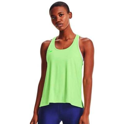 UNDER ARMOUR CAMISETA KNOCKOUT VERDE MUJER