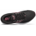 NEW BALANCE W411LP1 NEGRO Y ROSA MUJER