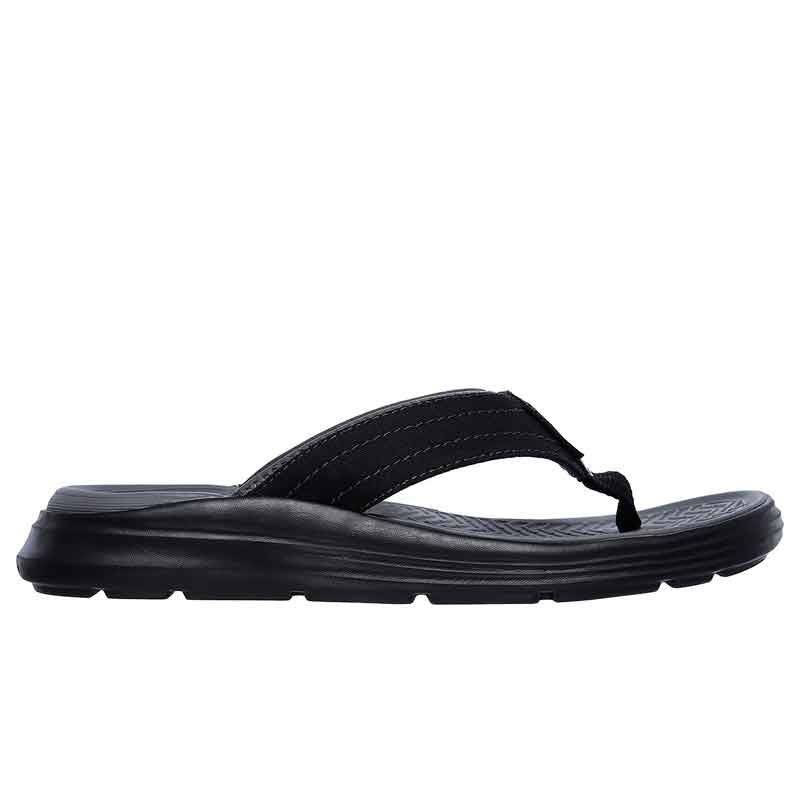 SKECHERS RELAXED FIT SARGO NEGRO HOMBRE