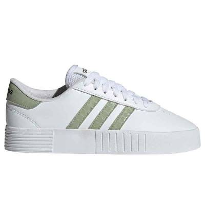 ADIDAS COURT BOLD BLANCO VERDE MUJER