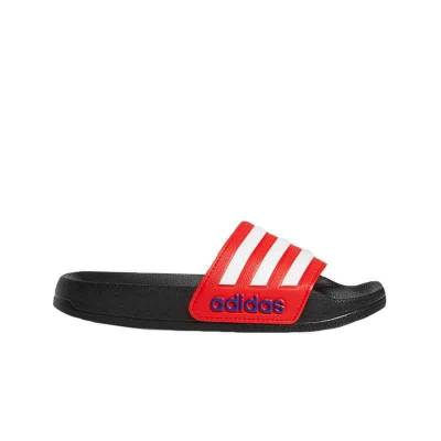 ADIDAS CHANCLAS ADILETTE SHOWER NEGRO ROJO JUNIOR