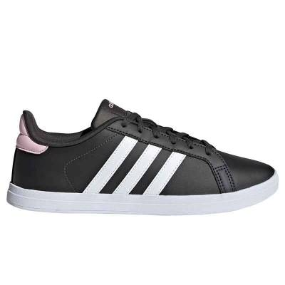 ADIDAS COURTPOINT NEGRO ROSA MUJER