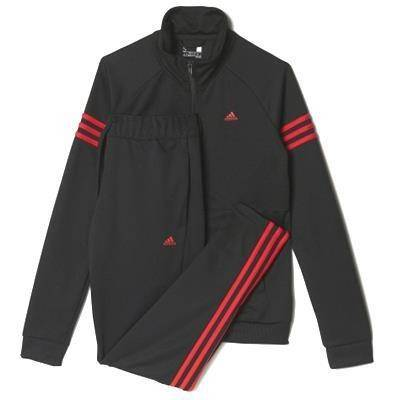 ADIDAS TEAMPORT SUIT NEGRO MUJER