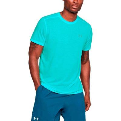 UNDER ARMOUR THREADBORNE STREAKER SS AZUL HOMBRE