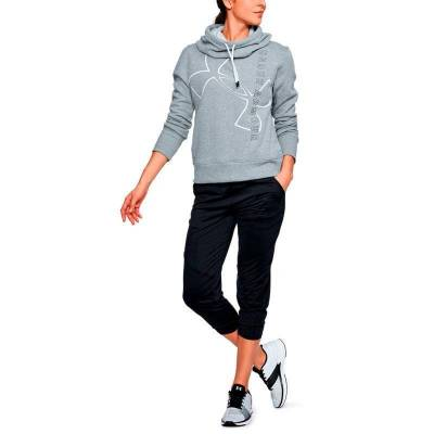 UNDER ARMOUR GOOD EUROPE HOODIE SEE GRIS MUJER