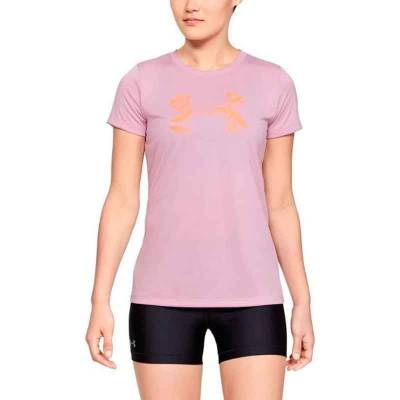 UNDER ARMOUR TECH SSC GRAPHIC LILA MUJER