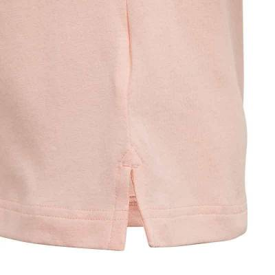 ADIDAS LG COTTON TEE ROSA JUNIOR