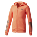 ADIDAS TRAINING FZ NARANJA JUNIOR