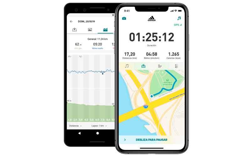 Mejores Aplicaciones running_Runtastic