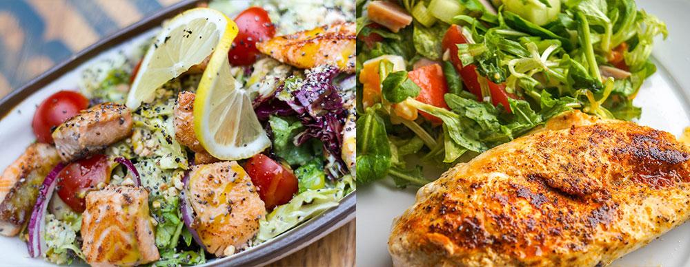 Los mejores alimentos para deportistas_pollo y pavo
