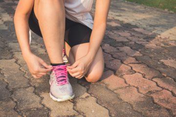 ¿Cómo se construyen las zapatillas de running?